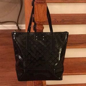 Sale! ♠️Kate Spade Extra Lg. Patent leather tote♠️